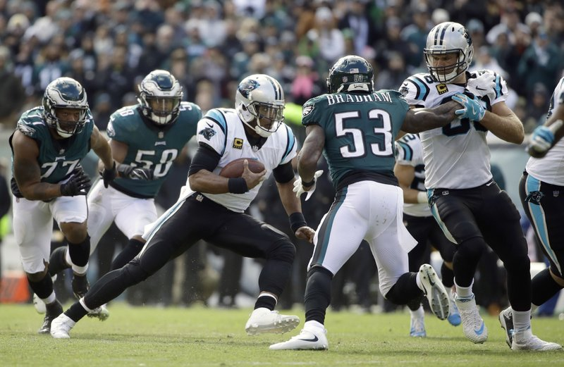 14580b5490e Cam Newton rallies Panthers to 21-17 win over Eagles