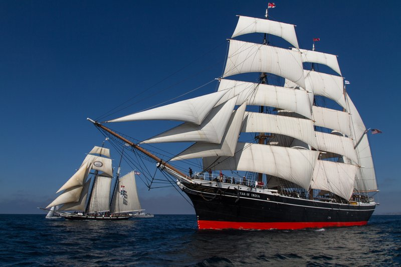 Legendary Maritime Museum of San Diego Vessel Star of India Sets Sail for First Time in Five Years November 17 & 18 in San Diego