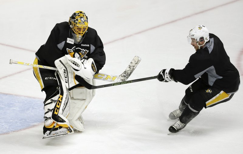 Marc Andre Fleury, Sidney Crosby