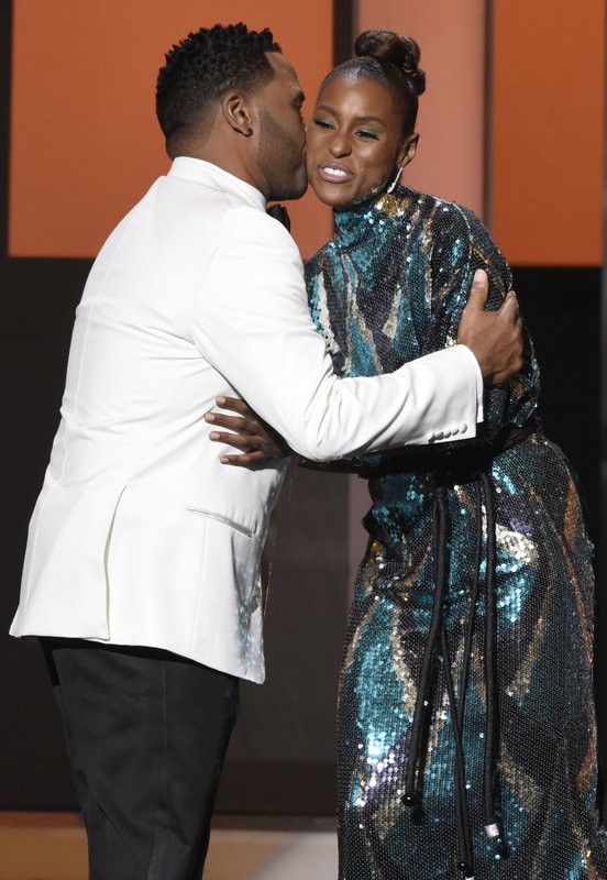 Issa Rae, Anthony Anderson