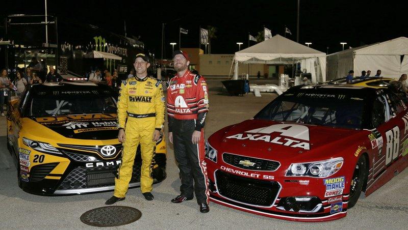 Matt Kenseth, Dale Earnhardt Jr.