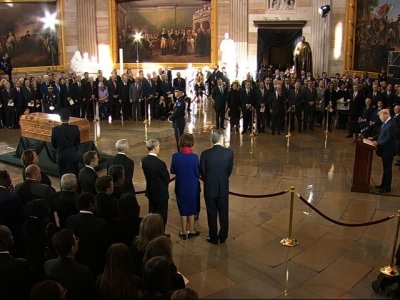 Trump, US Leaders Salute Rev. Billy Graham
