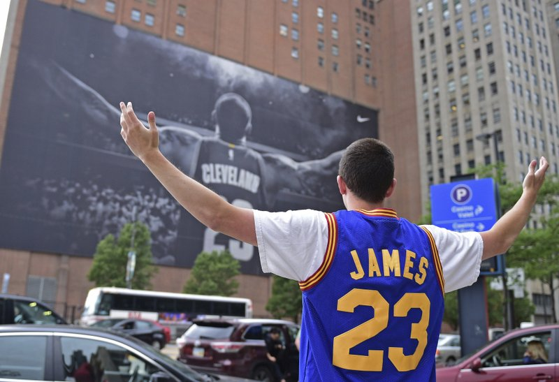 low priced d5b3e c36a2 Down town: Cleveland hurting after LeBron chooses LA, Lakers