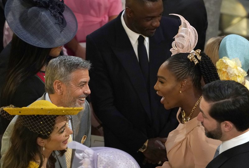 Celebrities Invited To Royal Wedding.Oprah To Idris Celebrities Spice Up Royal Wedding