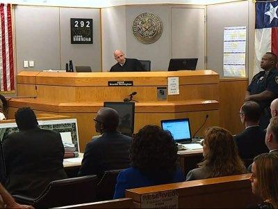 Relatives exchange hugs upon Texas guilty verdict