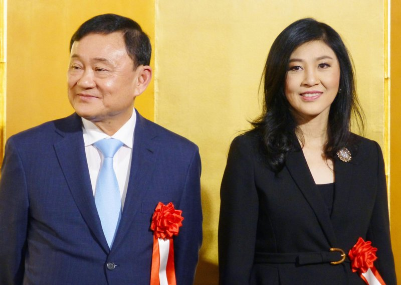 Thaksin Shinawatra, Yingluck Shinawatra
