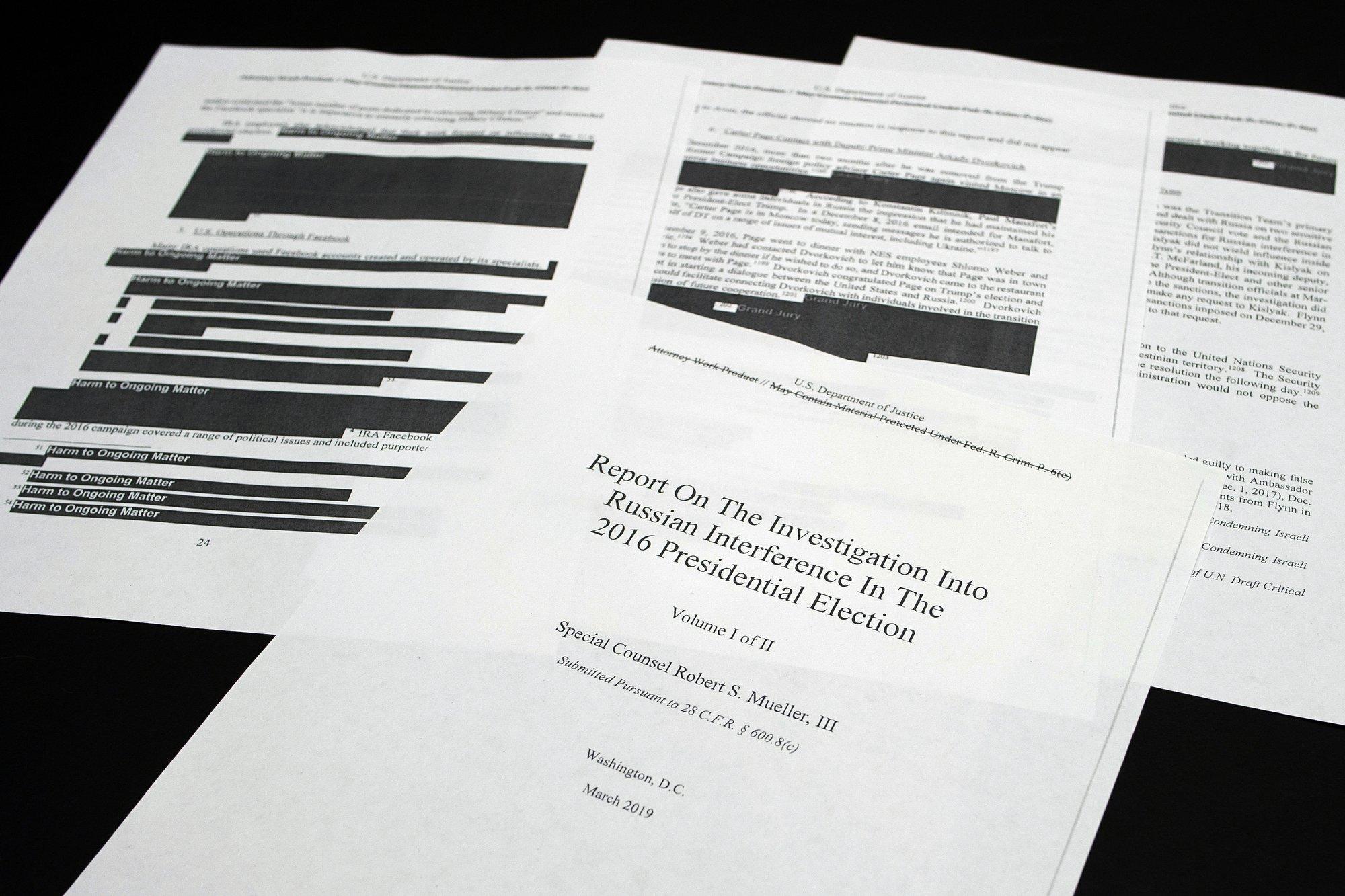 Key takeaways from Robert Mueller's Russia report