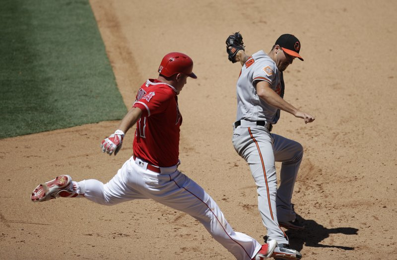 Mike Trout, Kevin Gausman