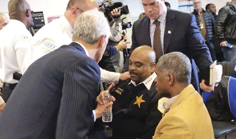 The Latest: Superintendent says he on kidney transplant list