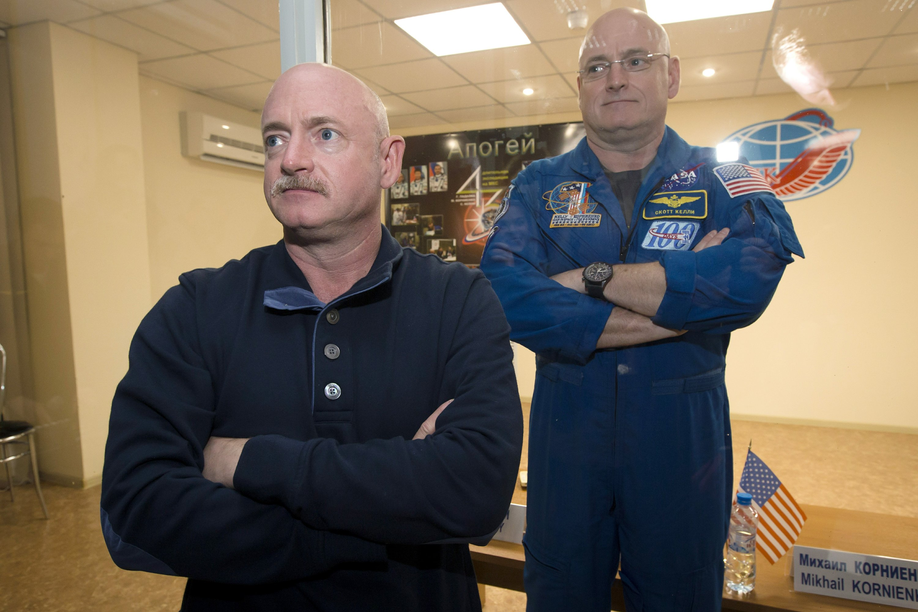 Year in space put US astronaut's disease defenses on alert