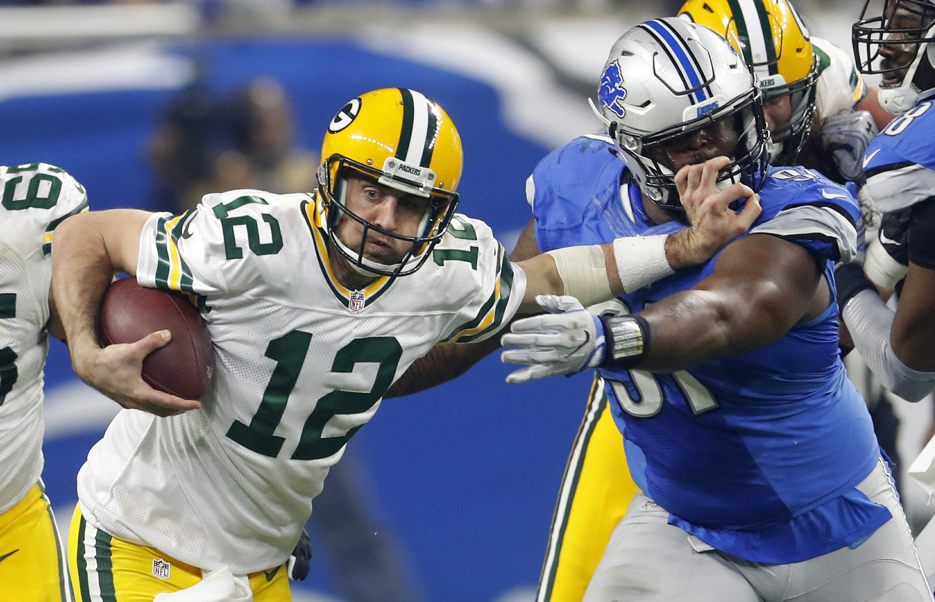 Rodgers Led Packers Beat Lions 31 24 To Win Nfc North