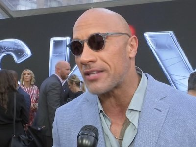 Dwayne Johnson honored to 'pay homage and respect to amputees' with 'Skyscraper' role