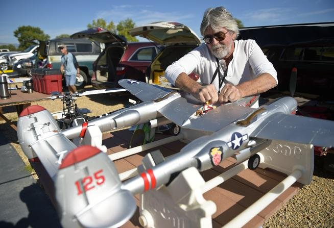 Fun, Fundraising Take Flight with Longmont Electric Aircraft Flyers
