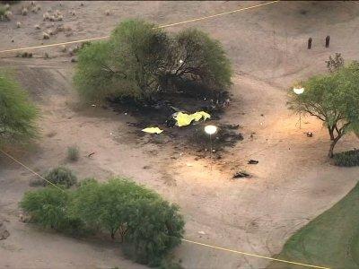 Police: No Survivors In Fiery AZ Plane Crash