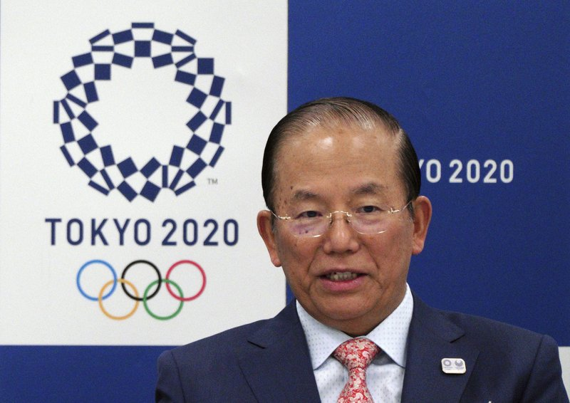 Tokyo Olympic CEO promises clean games for Japan