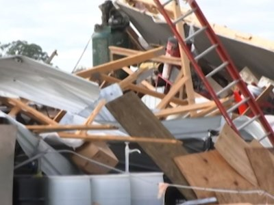 Storms, possible tornadoes strike Wisconsin
