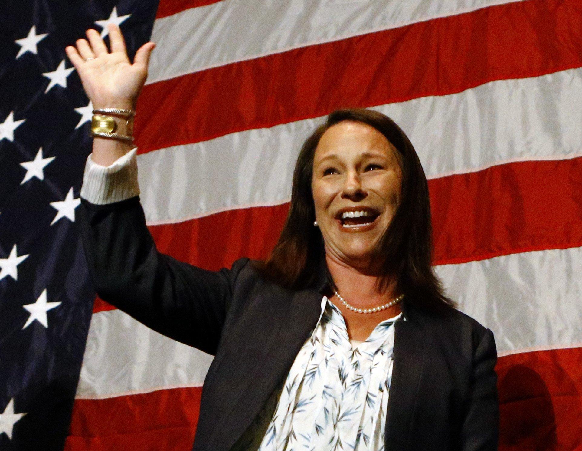 Ala. congresswoman wins runoff turning on...