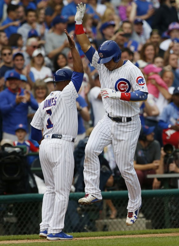 Willson Contreras, Gary Jones