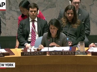 Russia Vetos UN Resolution On Syria