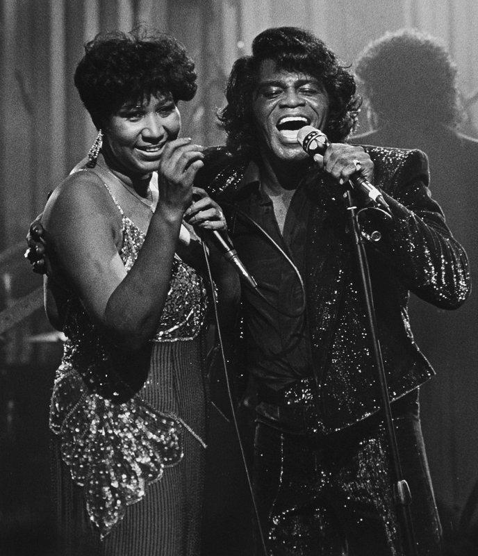 Aretha Franklin, James Brown