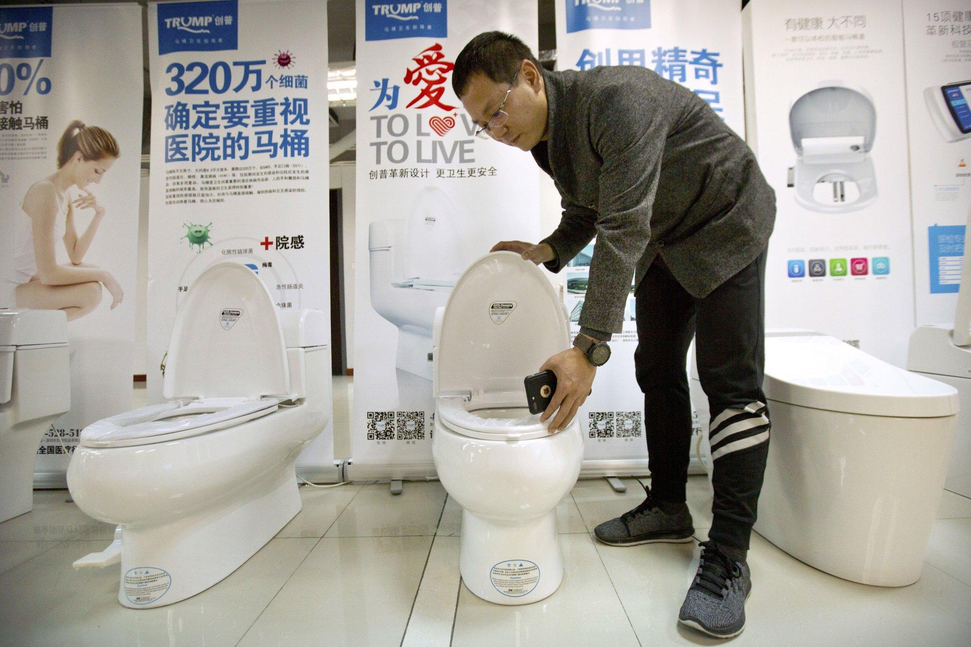 Bbw in toilet again