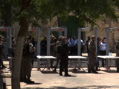 Raw: Israel Reopens Holy Site After Fatal Attack