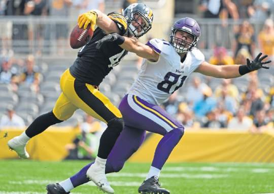 a4c6d5a1975 Tyler Matakevich gets biggest role in committee replacing Vince Williams at  Steelers practice