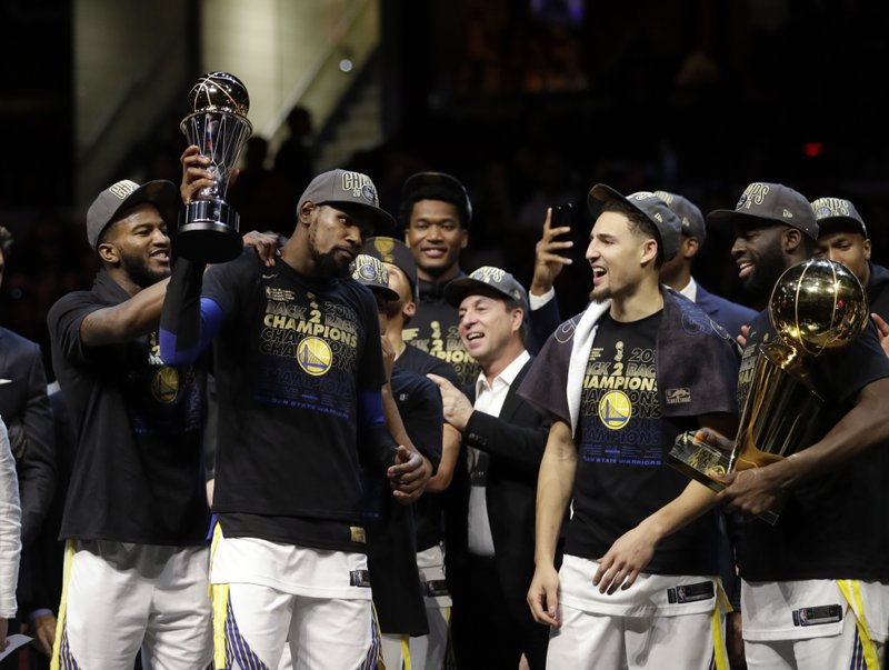Back To Back Titles And Finals Mvps For Kevin Durant