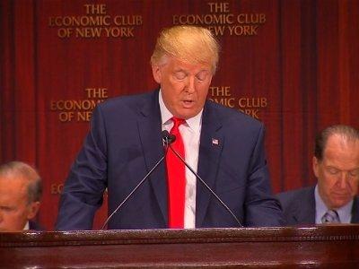 Trump Outlines Ambitious Economic Plan