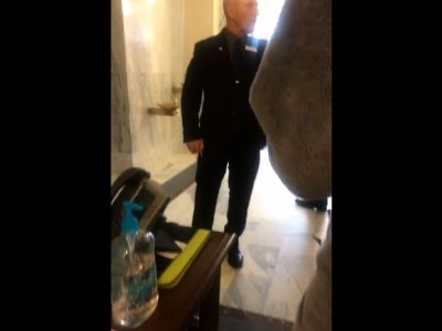 Idaho Senator Shouts at University Students