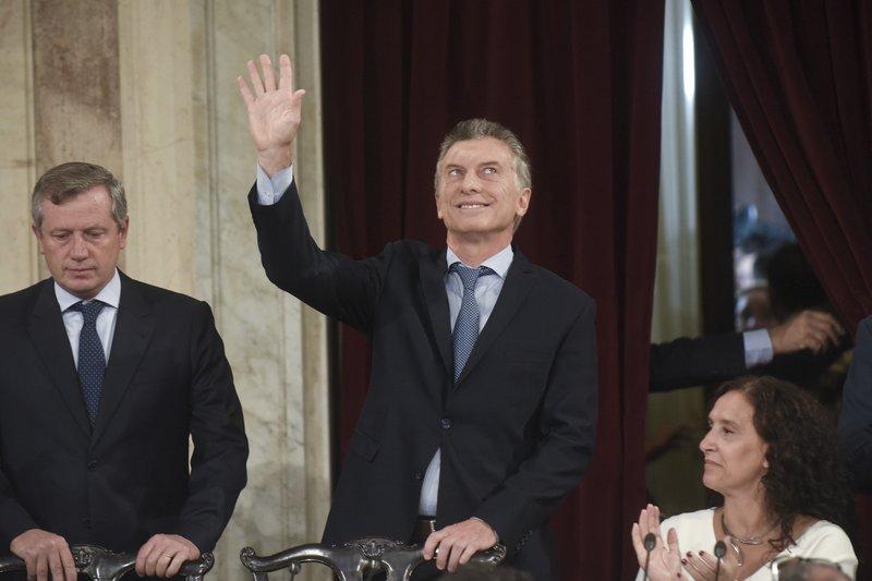 Mauricio Macri, Emilio Monzo, Gabriela Michetti