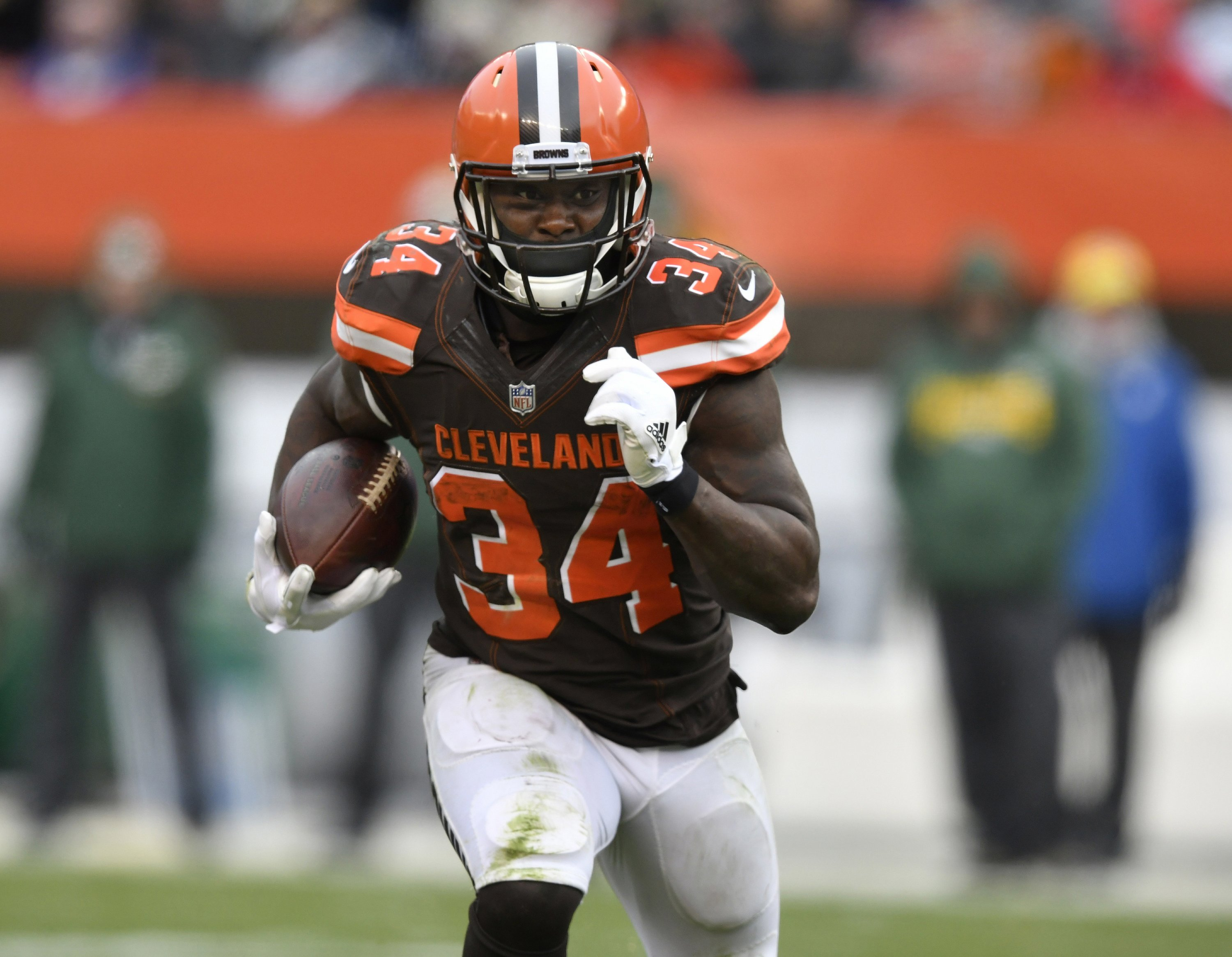 Jets sign RB Isaiah Crowell, K Cairo Santos