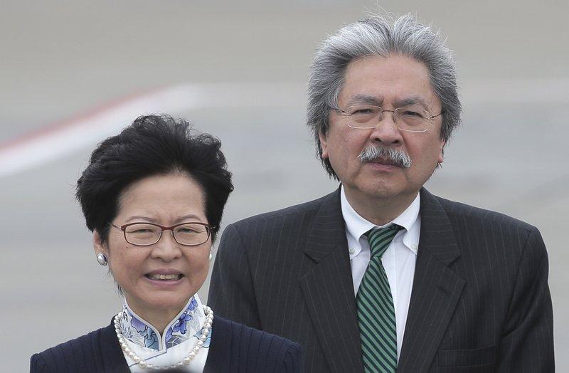 Carrie Lam, John Tsang