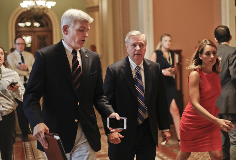 Bill Cassidy, Lindsey Graham,