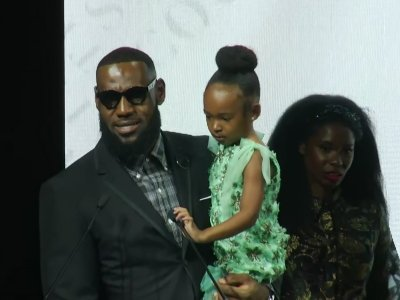 LeBron: African-American women 'are most powerful women in the world'