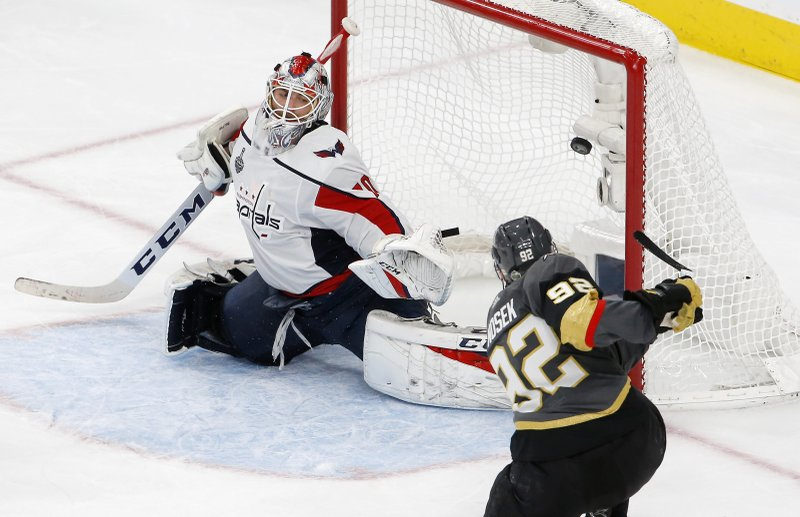 413ce8ff1a0 6 of a kind  Golden Knights outlast Caps 6-4 in Final opener