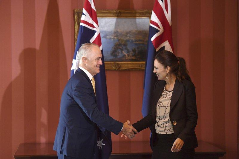 Jacinda Ardern, Malcolm Turnbull
