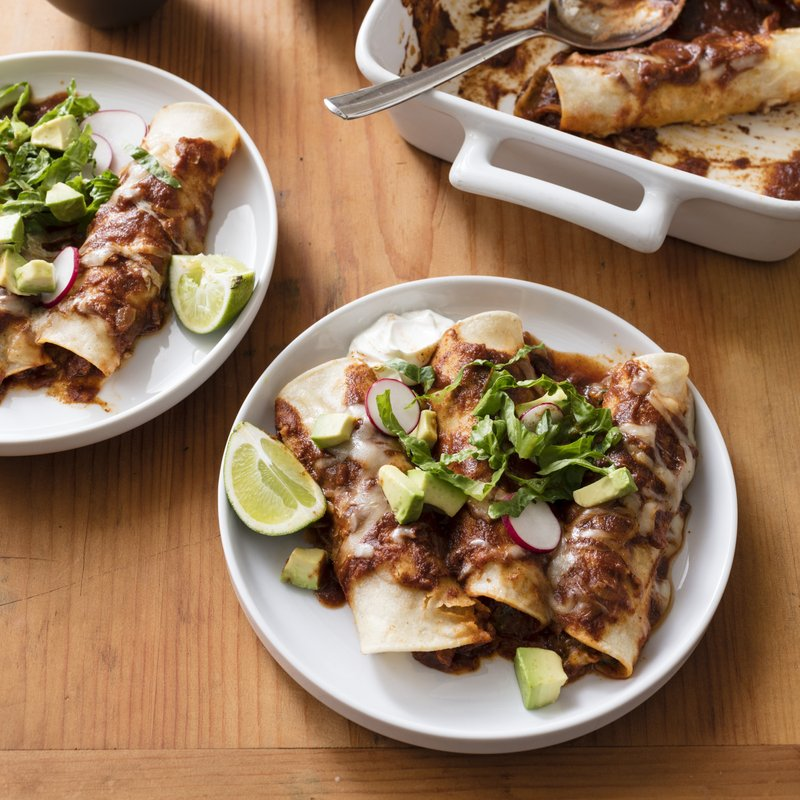 Awe Inspiring For More Streamlined Chicken Enchiladas Use A Slow Cooker Best Image Libraries Sapebelowcountryjoecom