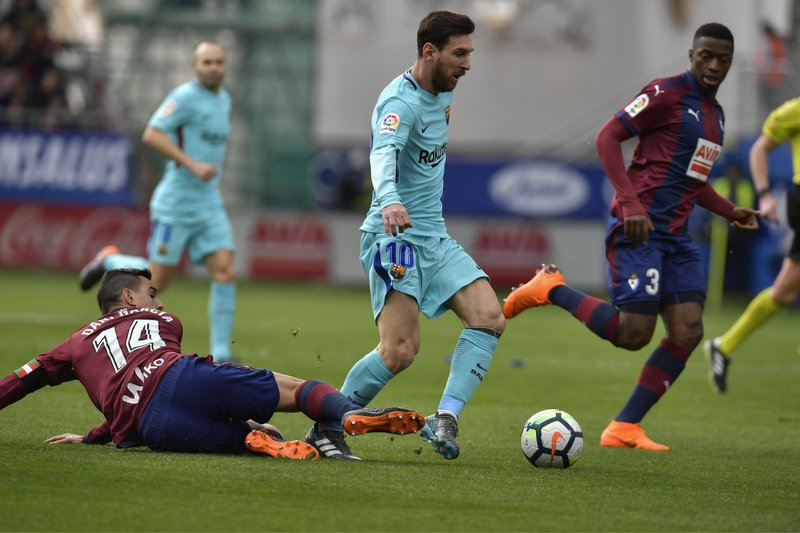 Lionel Messi, Dani Garcia