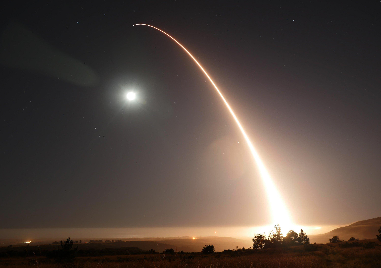 US test fires ballistic missile from California coastal base