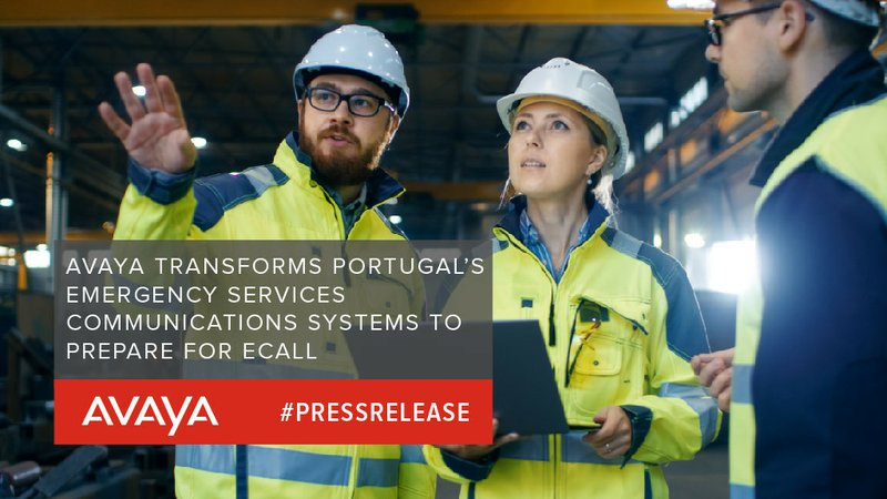 Avaya Transforms Portugal's Emergency Services Communications Systems to Prepare for eCall