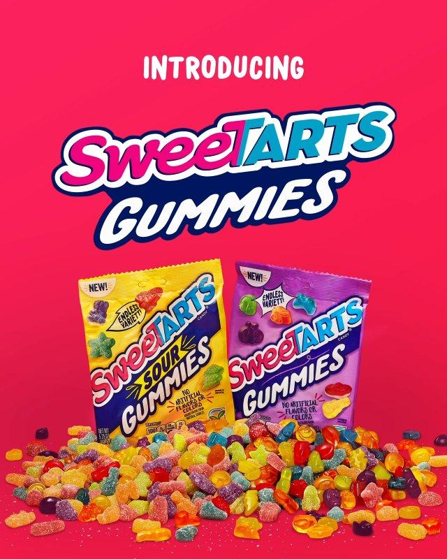 SweeTARTS Expands Product Portfolio with New SweeTARTS Gummies