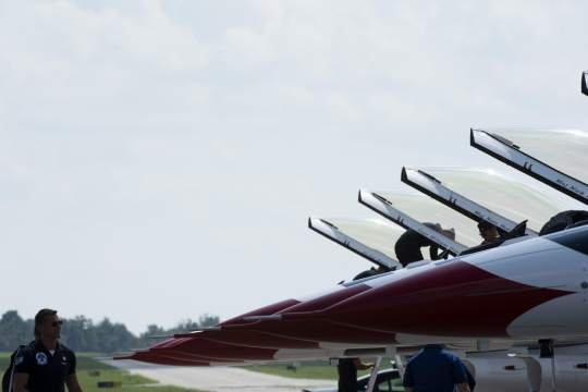 Air Force Thunderbirds ready to perform this weekend at Westmoreland County Airshow