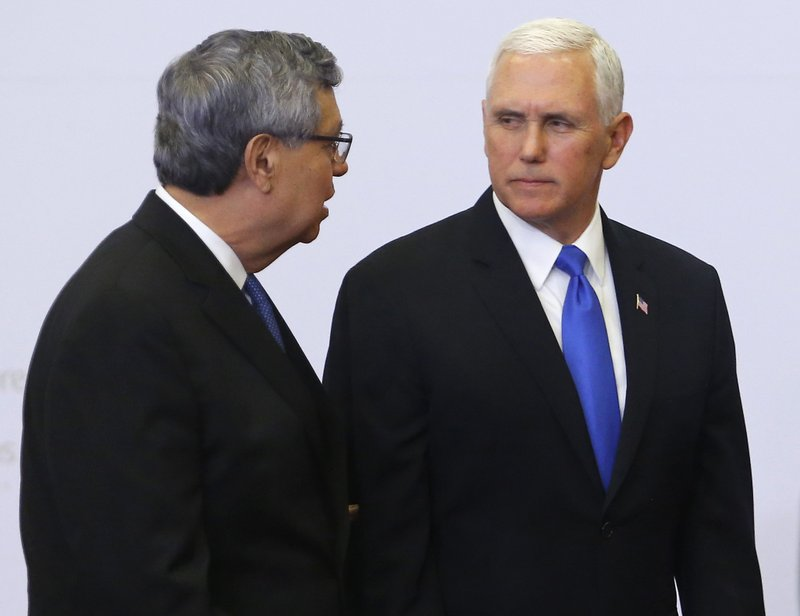Jafeth Cabrera, Mike Pence