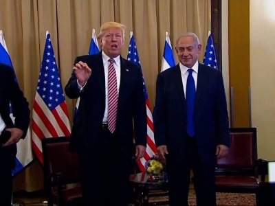 Trump: 'I Never Mentioned' Israel to Russians