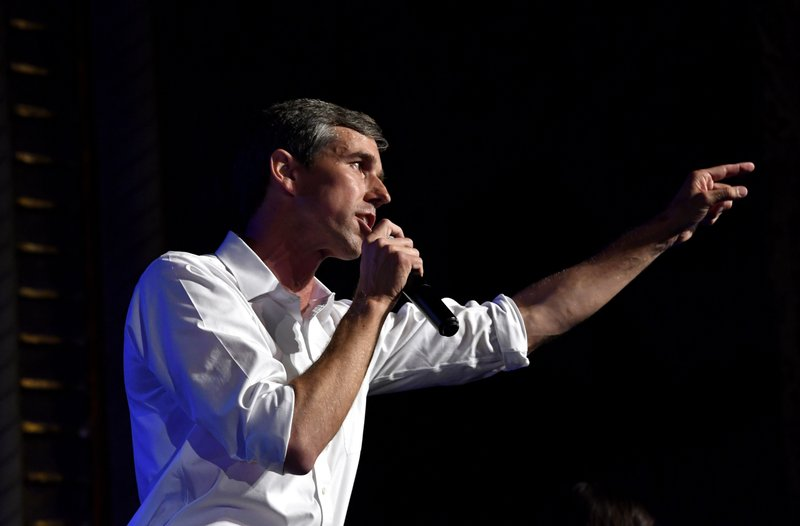 AP FACT CHECK: O'Rourke gets money through PAC, not from it