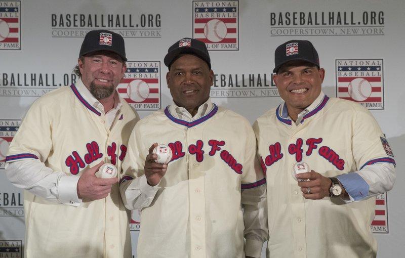 Jeff Bagwell, Tim Raines, Ivan Rodriguez
