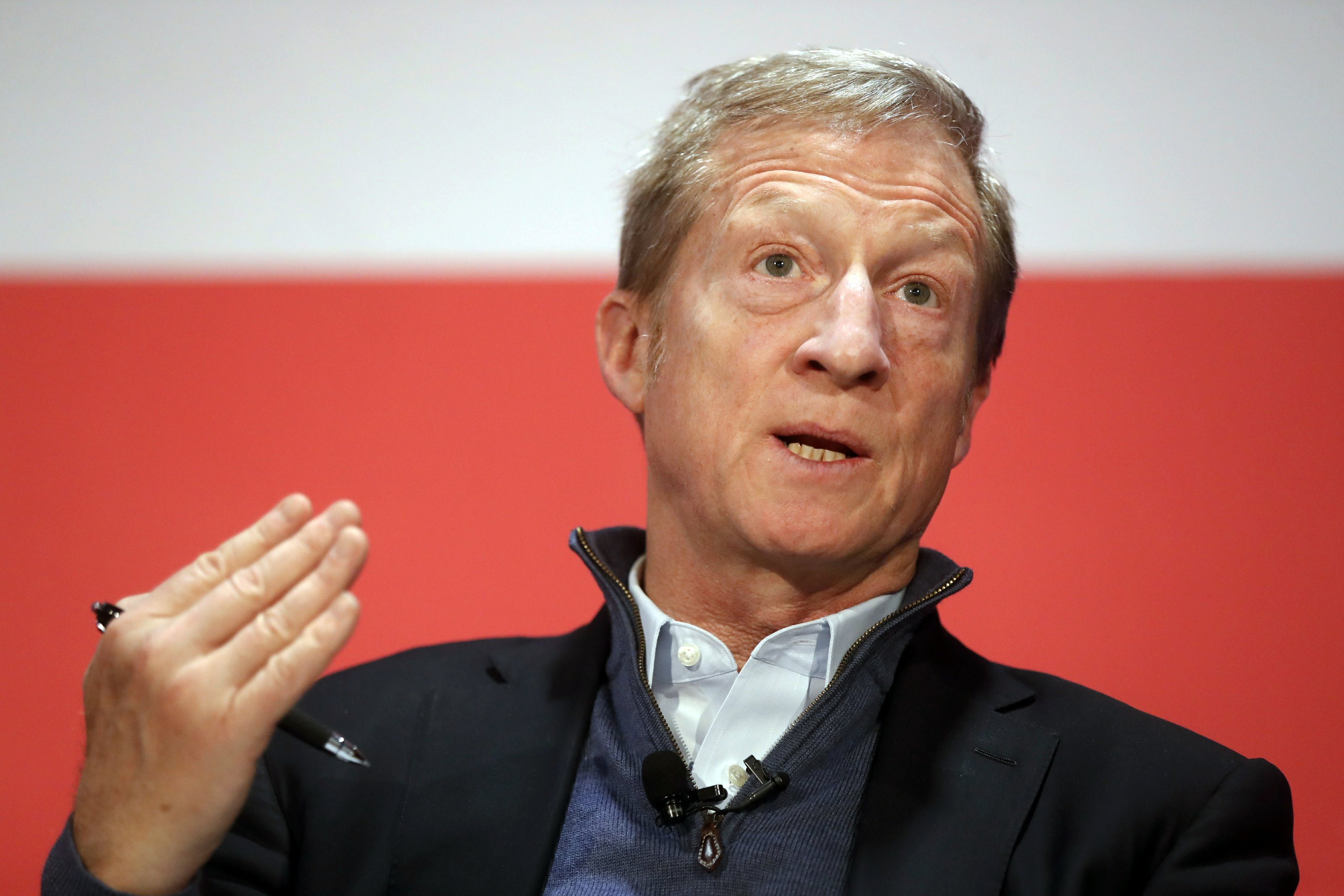 Steyer makes move toward 2020 with ad, trip to SC