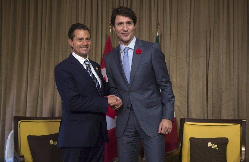 Justin Trudeau Enrique Pena Nieto