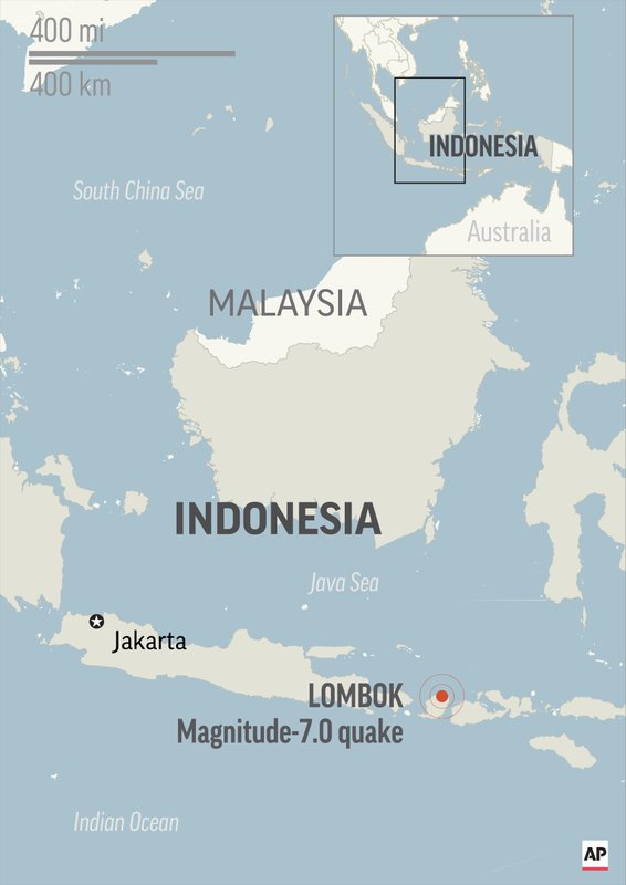 INDONESIA QUAKE LOMBOK